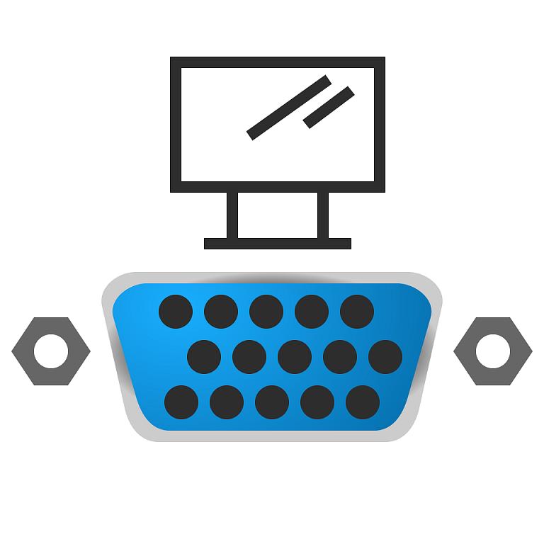 Как подключить старый монитор к новой видеокарте