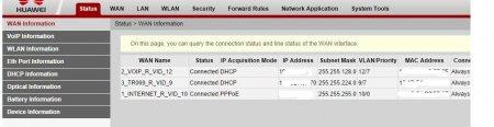 Обзор Huawei 8245 (8240). Какие настройки доступны в режиме пользователя?