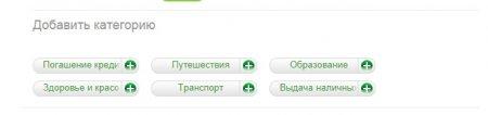 Сбербанк Онлайн. Услуга Мои финансы - статистика расходов, контроль бюджета, распределение средств