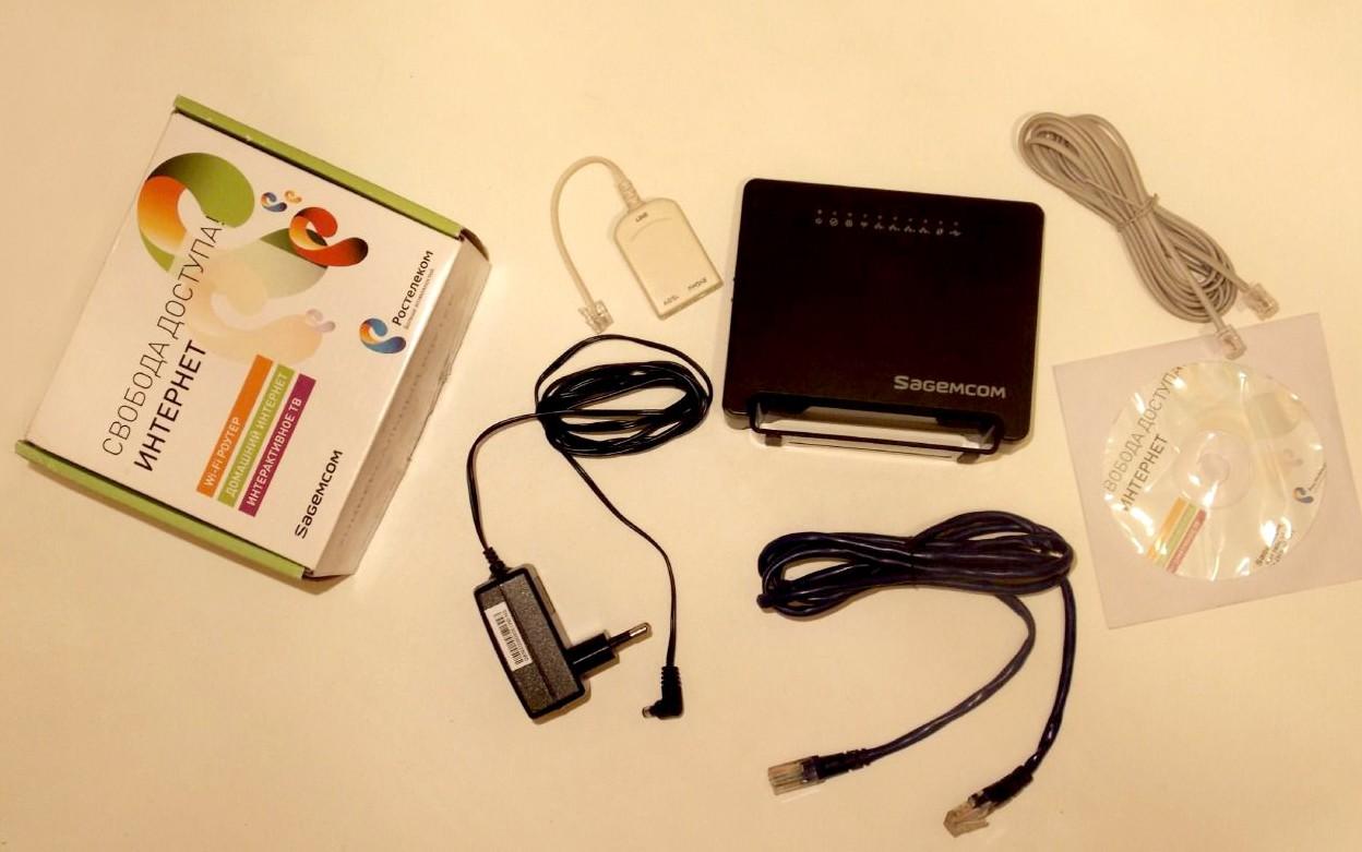 Комплект Sagemcom Fast 2804