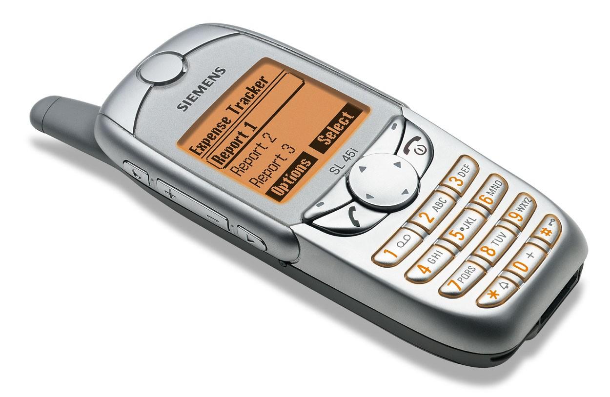 Телефон Siemens SL45