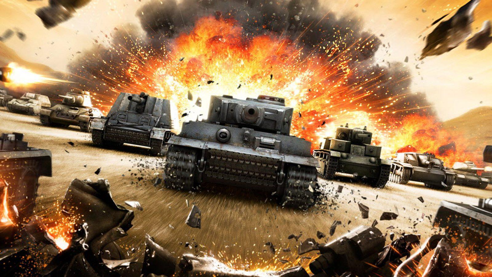 Скриншот игры World of Tanks