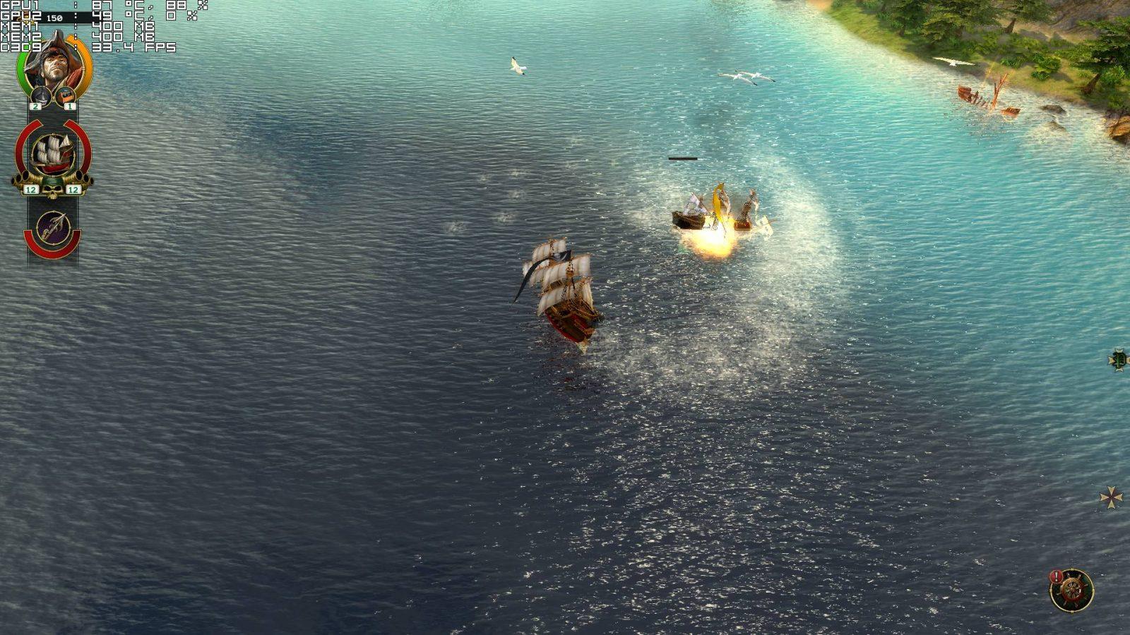 Скриншот из игры Пираты Карибского моря (Корсары)