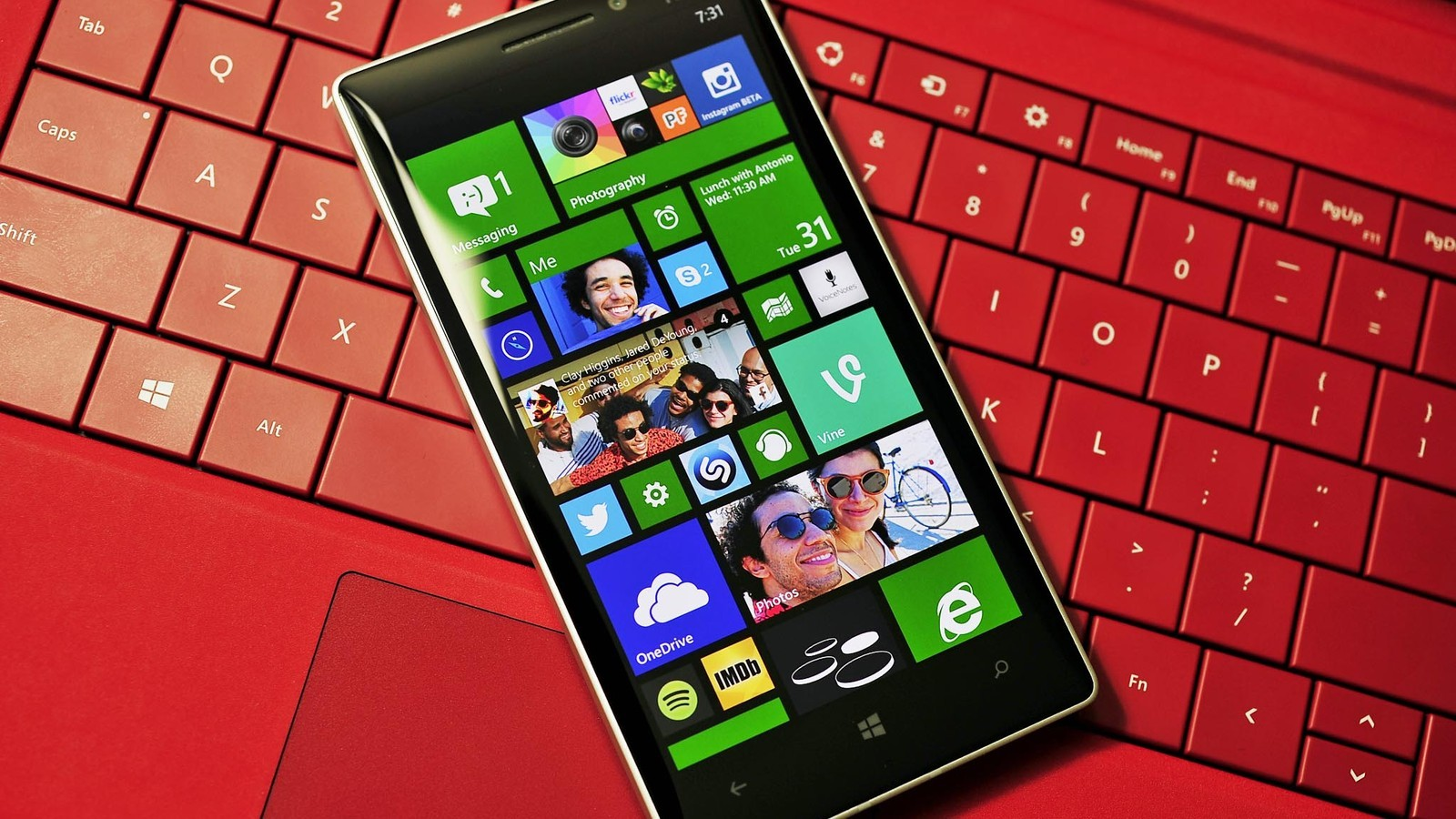 Windows Phone 8.1 на сматрфоне