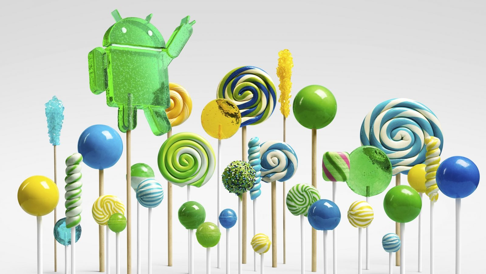 Конфета Android 5.0