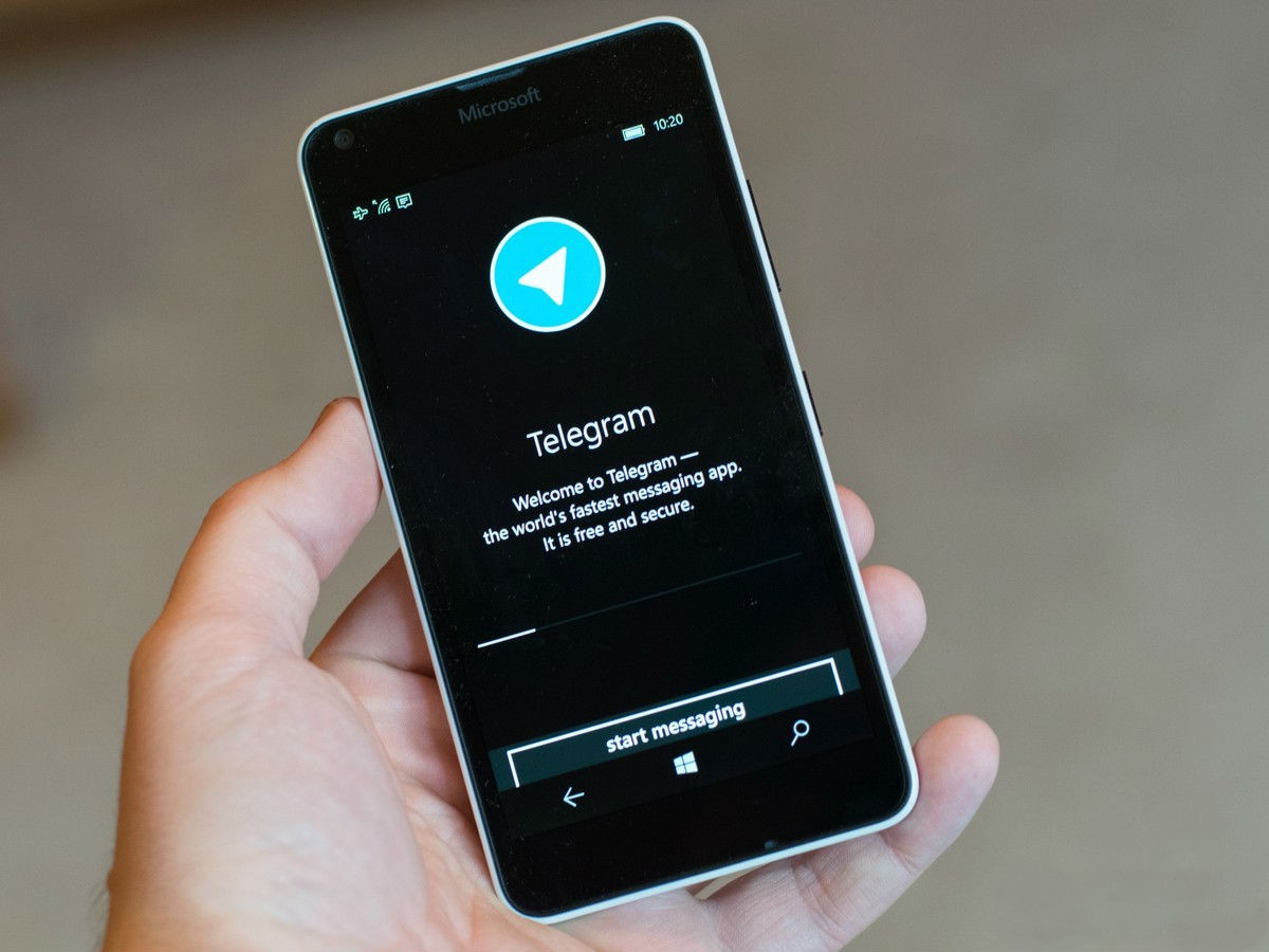 Тестируем Telegram на Windows Phone 8