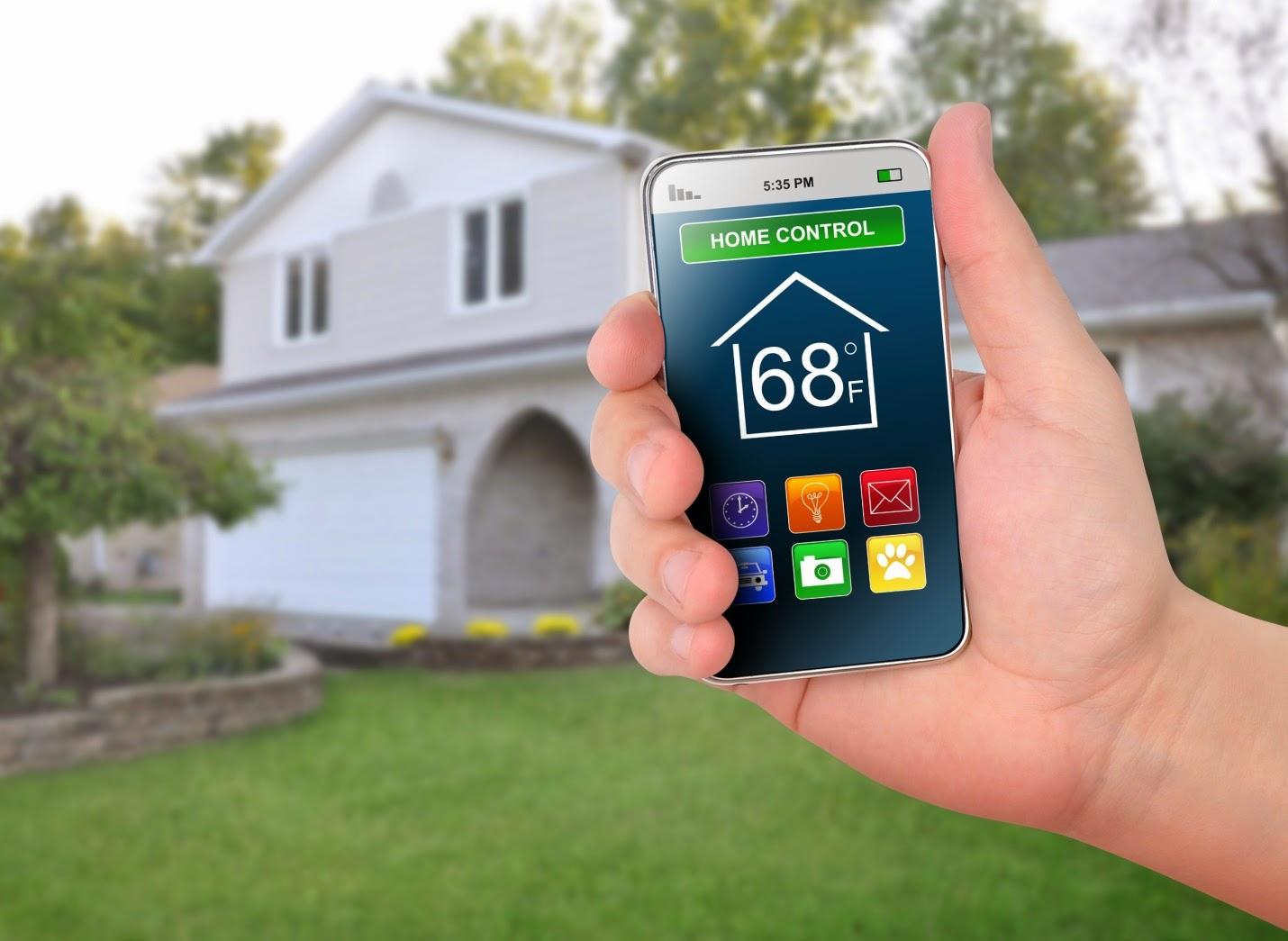 Система Умный дом на смартфоне