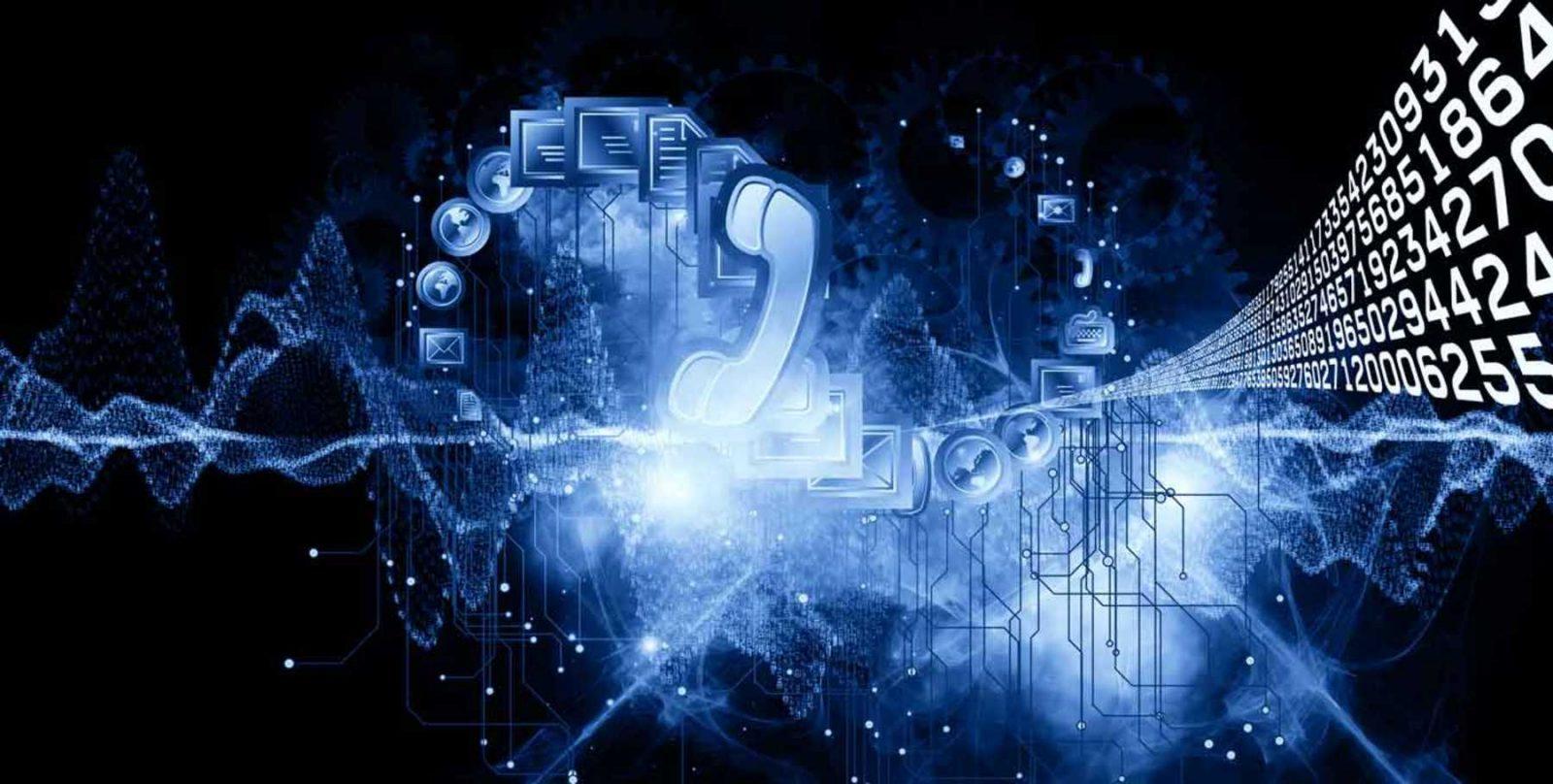 Изображение телефонной трубки и чисел