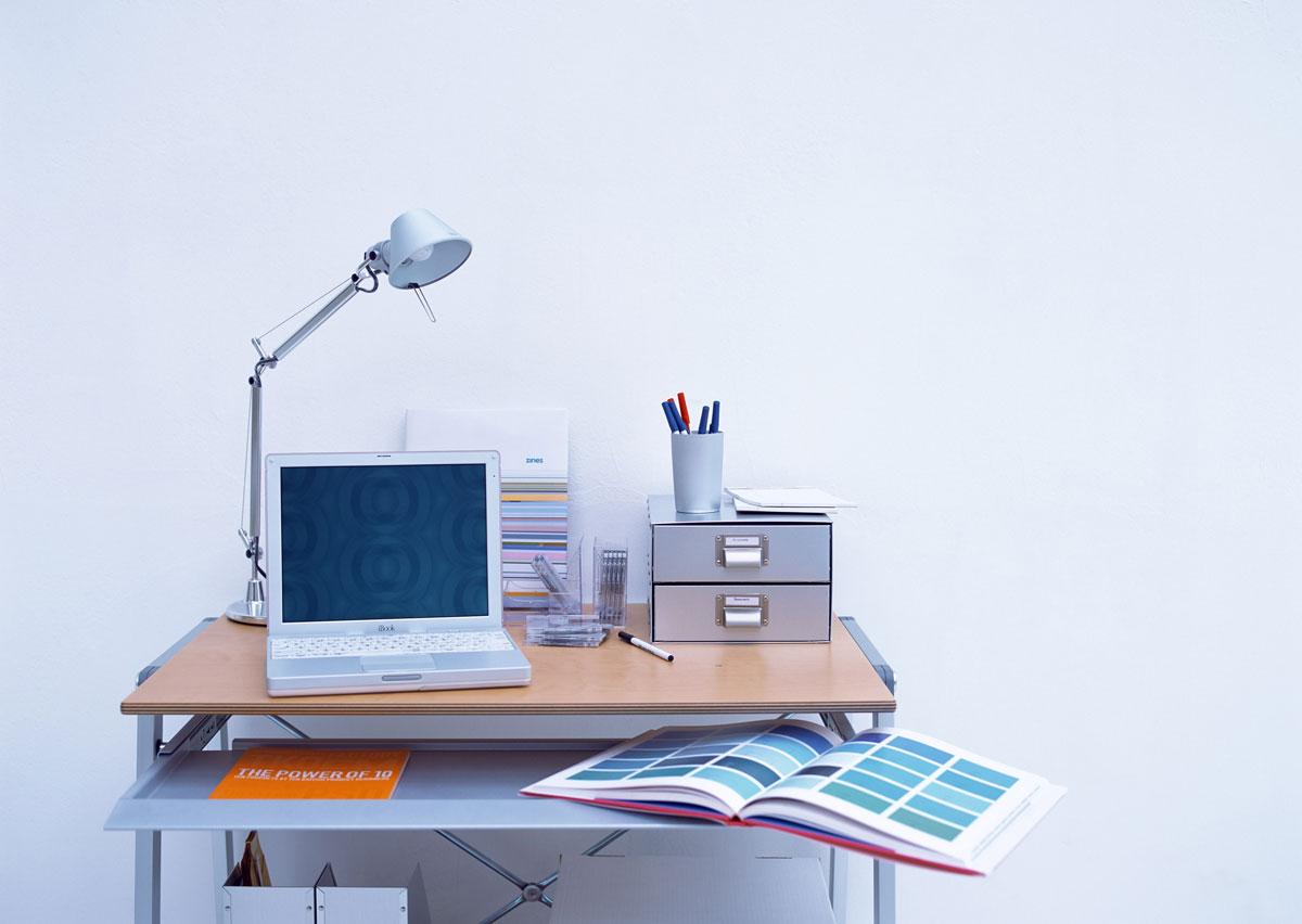 Рабочее место с компьютером