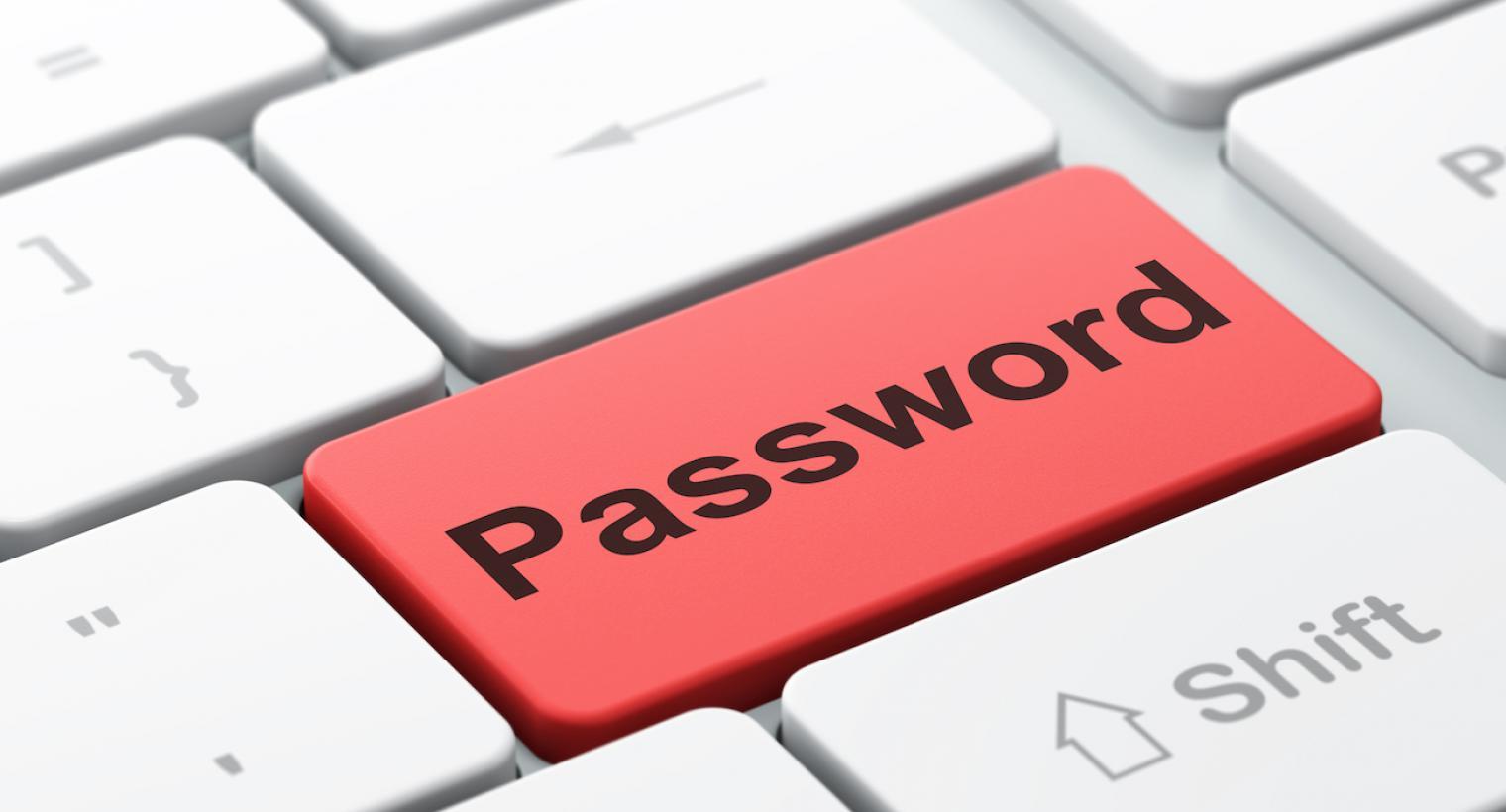Клавиша на клавиатуре с надписью Password