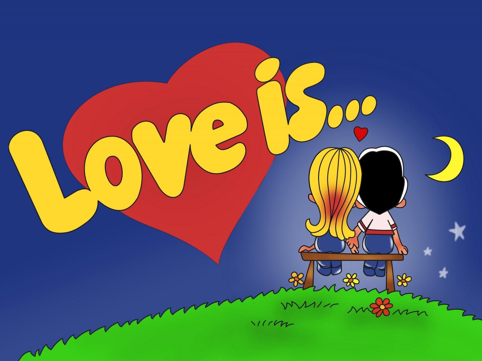 Обертка от жвачки Love is...
