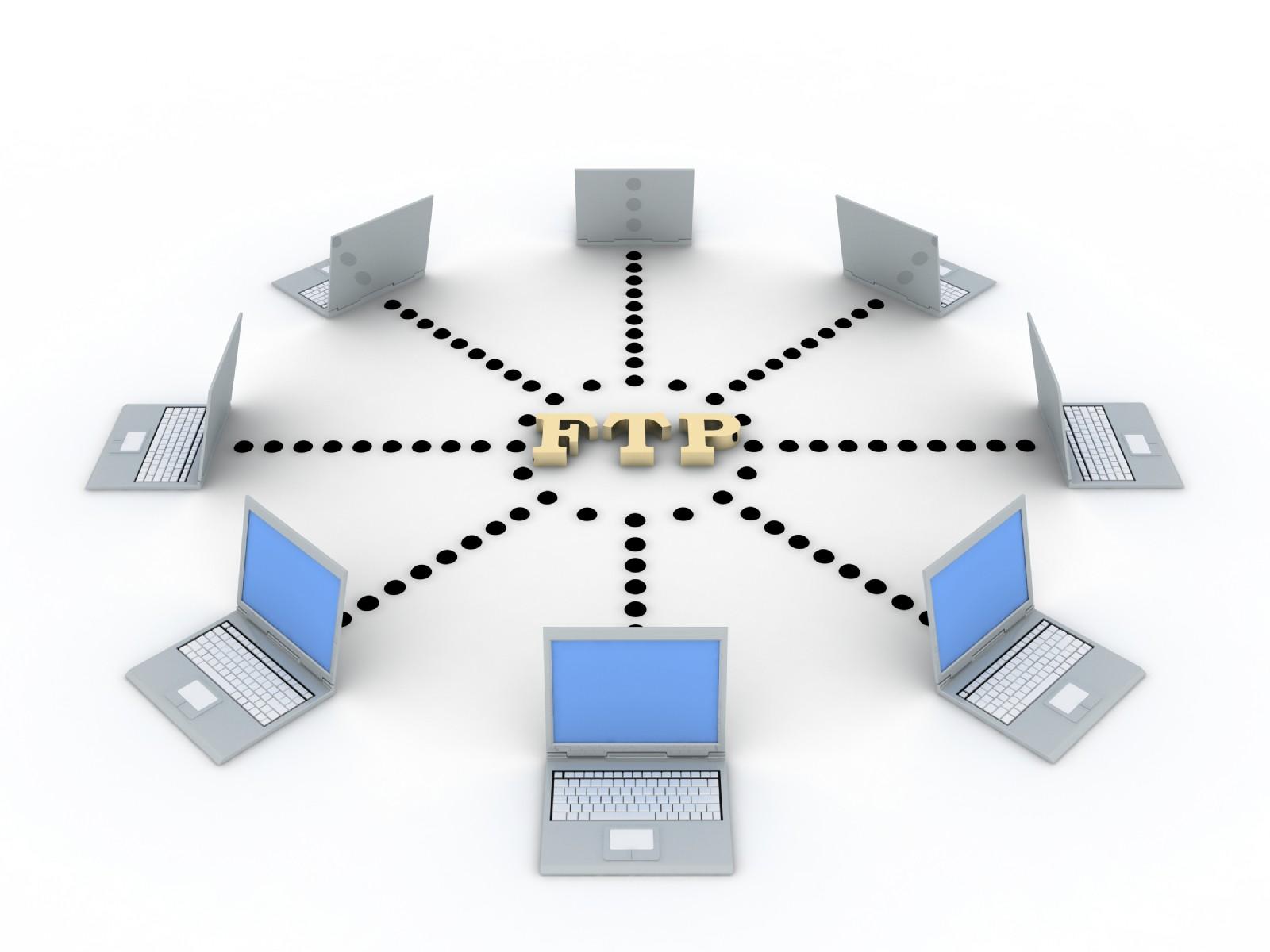 Схема работы FTP