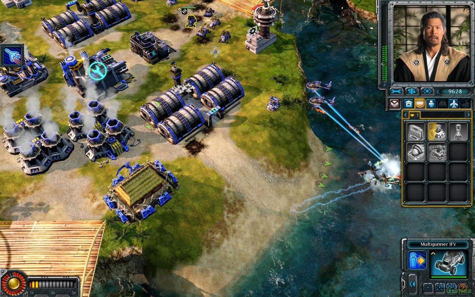Скриншот из игры Command & Conquer