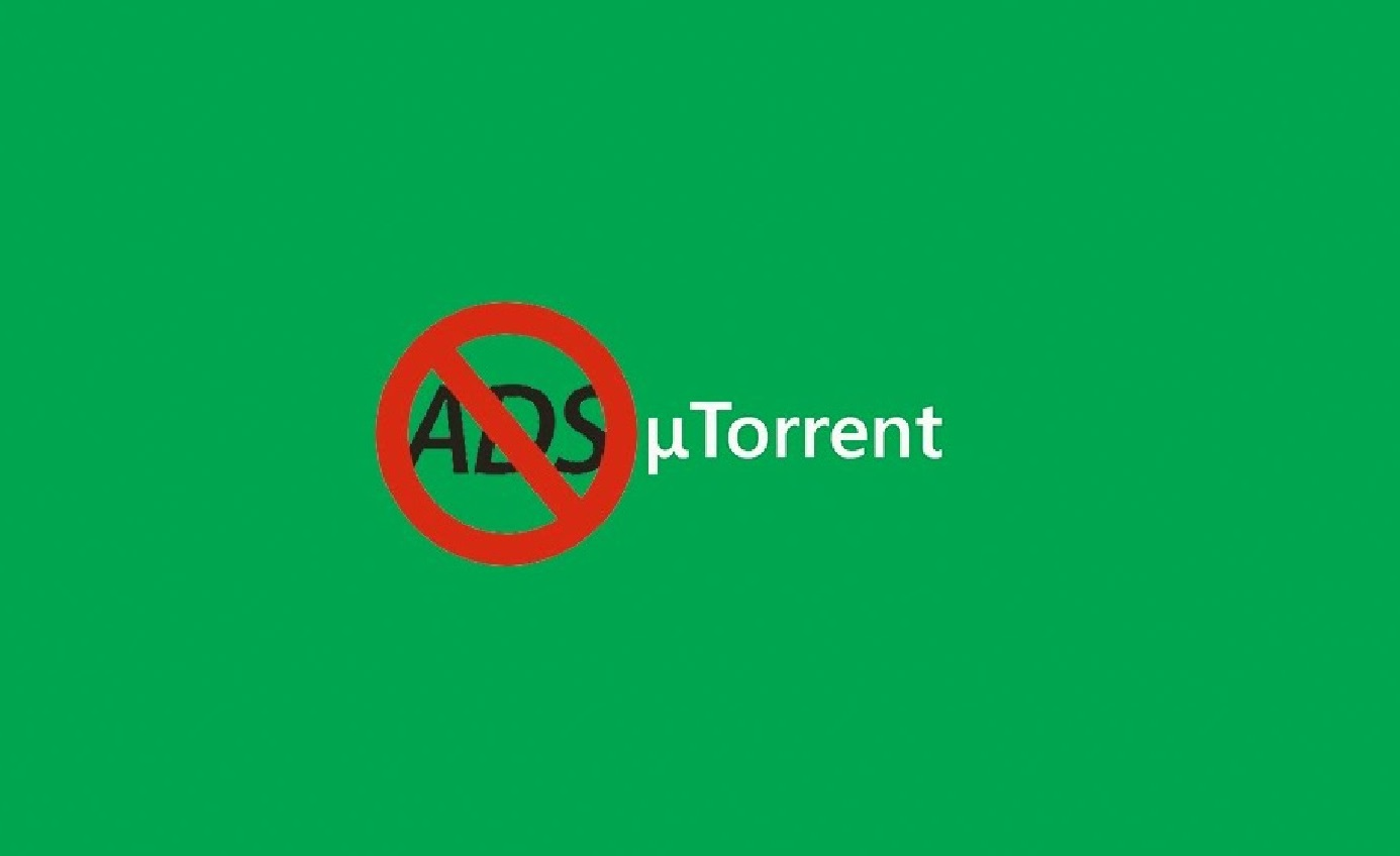 Убрать рекламу в uTorrent