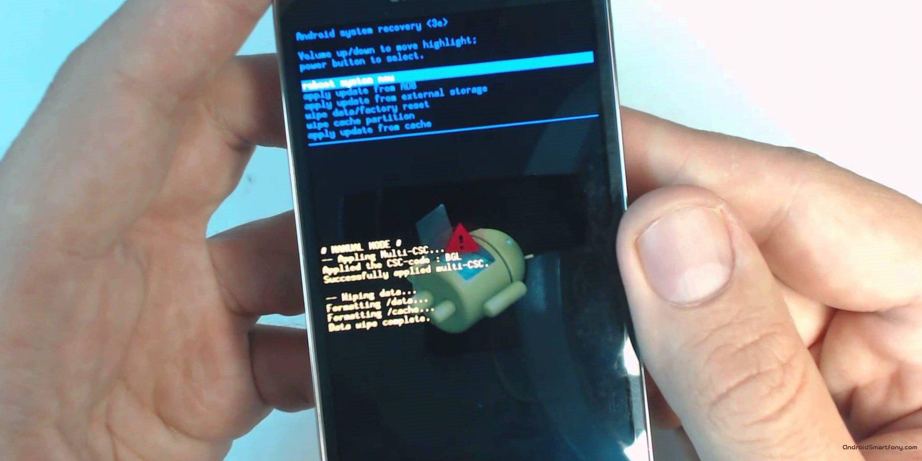 Как включить режим отладки по USB на Android