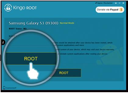 Приложение для получения root-прав Kingo Root Android