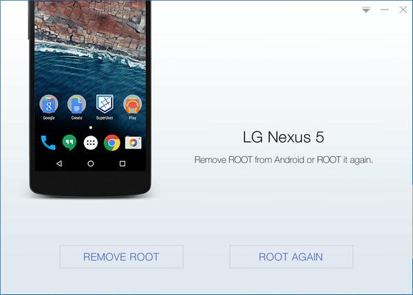 Удаление root-прав с помощью Kingo Android Root