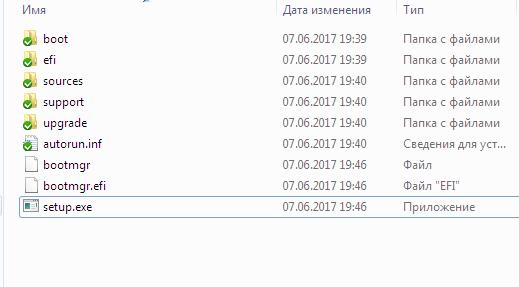 Исходники системы в папке дистрибутива Windows