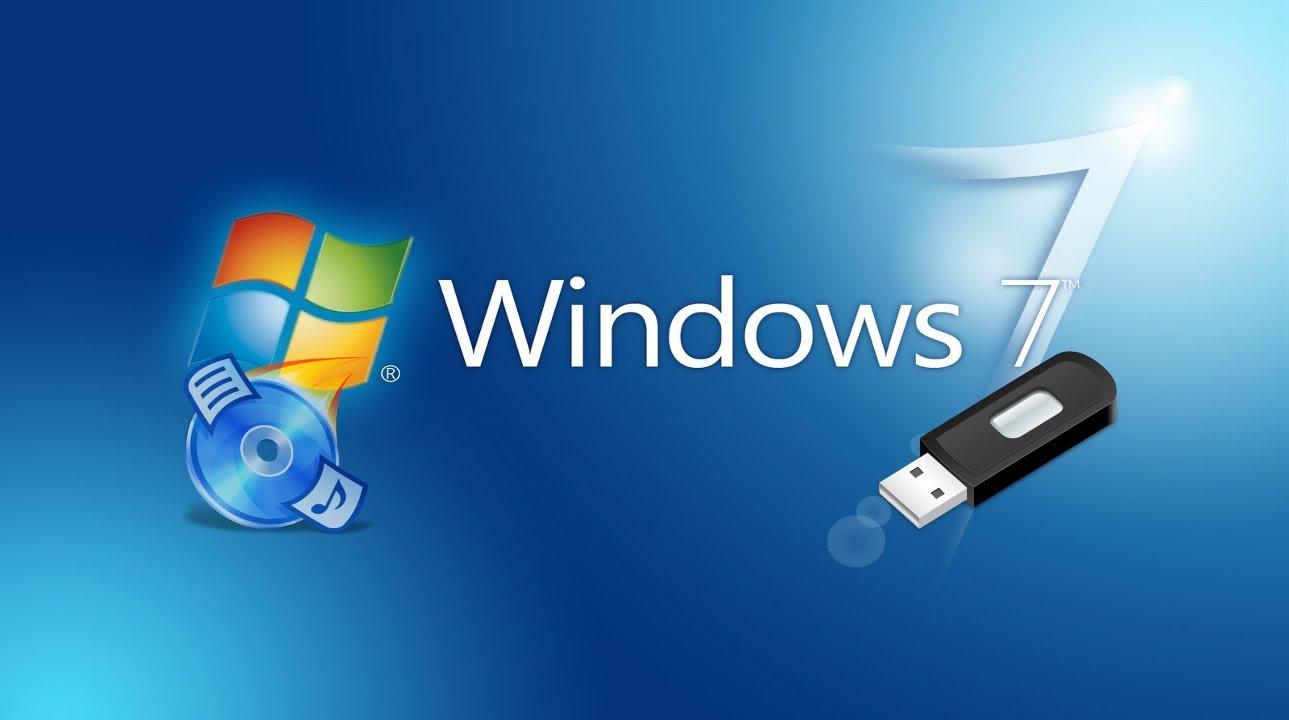 Как самостоятельно установить Windows 7