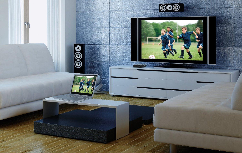 Как правильно подключить ноутбук к телевизору