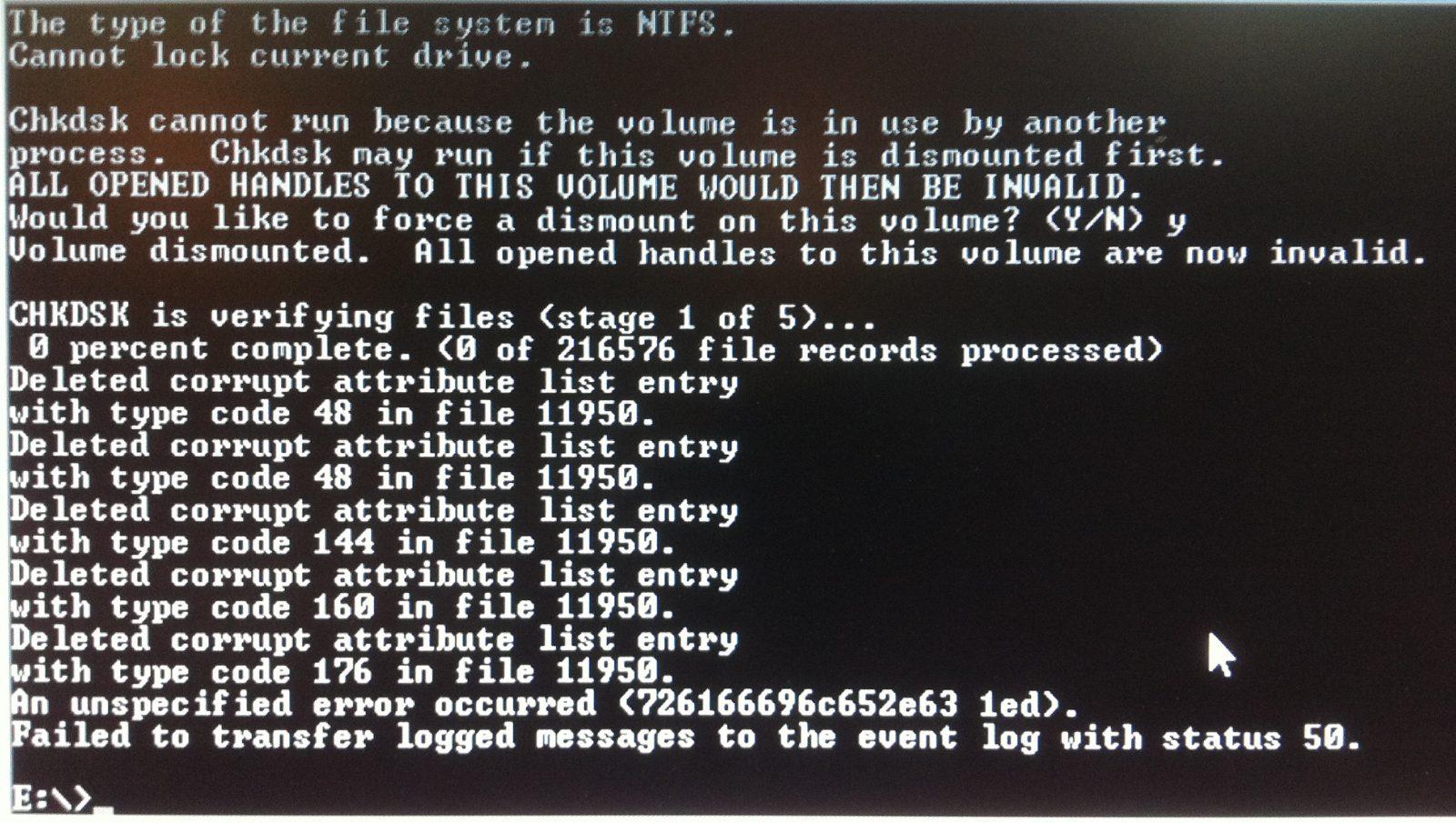 Зачем нужна программа chkdsk, как запустить проверку диска