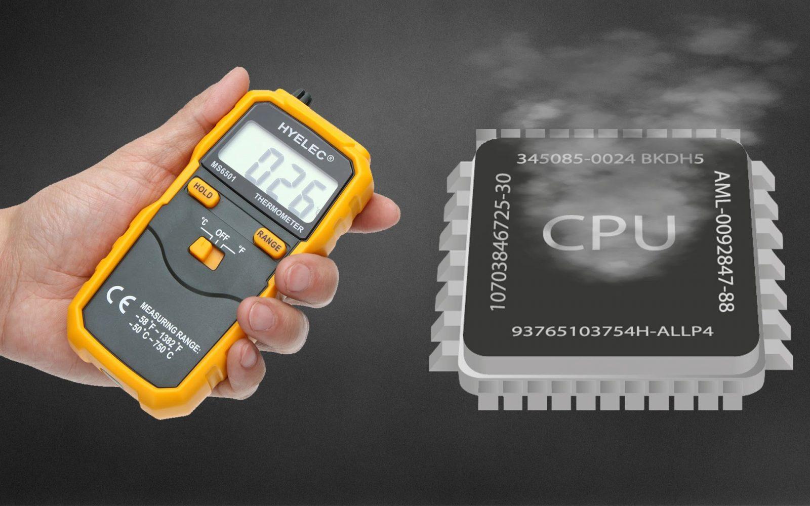 Как определить температуру центрального процессора