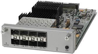 Модуль восходящего канала 8 Gigabit Ethernet 8 x 10