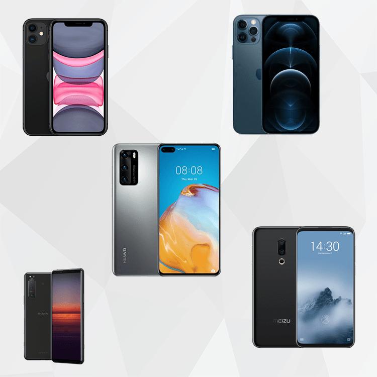 5 лучших телефонов с экраном 6 дюймов