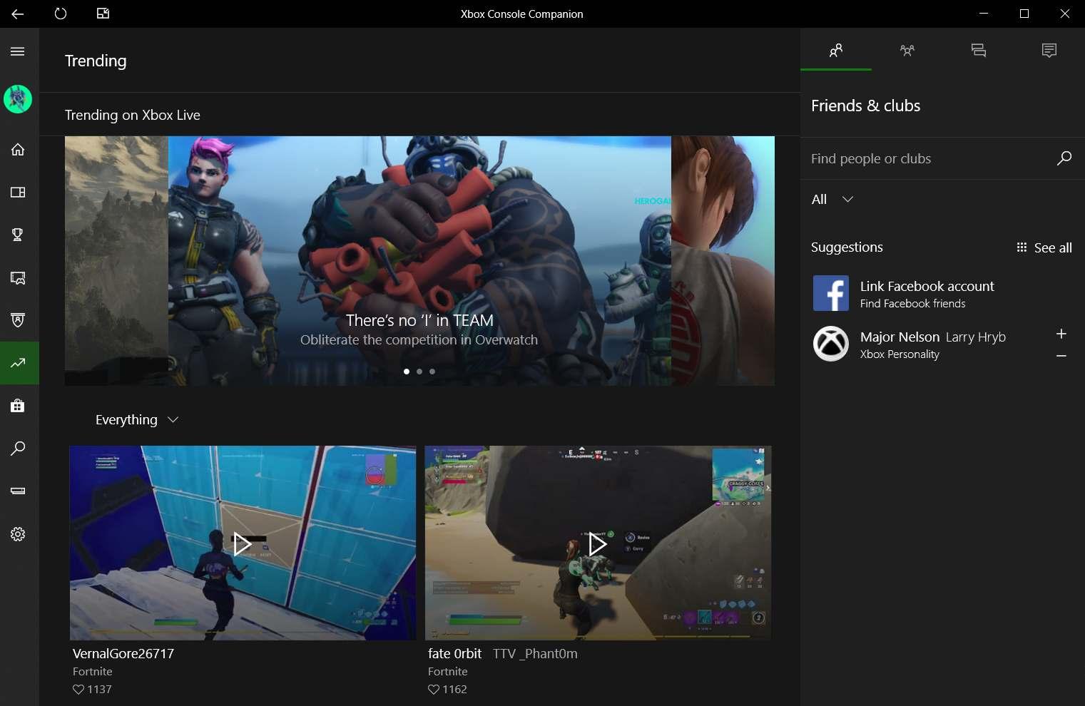 Xbox Console Companion Windows 10