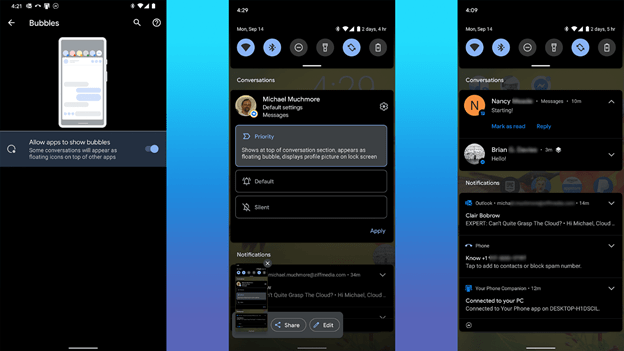 Обзор Google Android 11