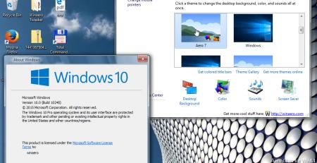 Aero Glass для Windows 10: как скачать и использовать программу для включения прозрачного оформления рабочего стола