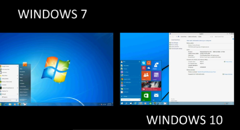 Что лучше Windows 7 или 10: сравнение систем