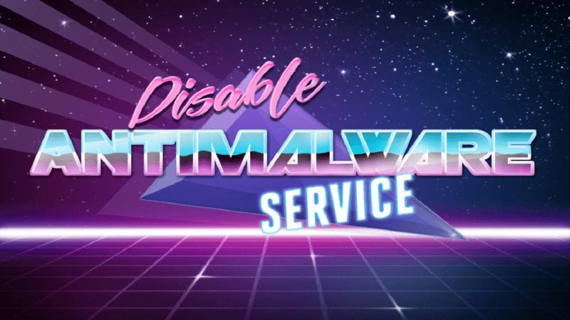 Antimalware Service Executable грузит диск на Windows 10: что это за процесс и как его остановить