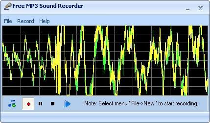 Утилита Free MP3 Sound Recorder